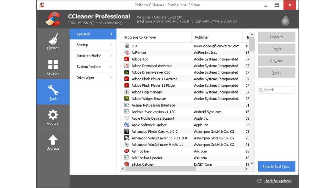 CCleaner Pro Crack + License Key Full Version