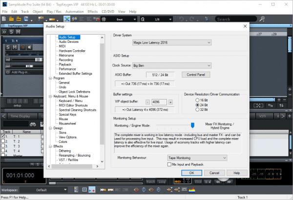 MAGIX Samplitude Pro X6 Suite Crack Free Download