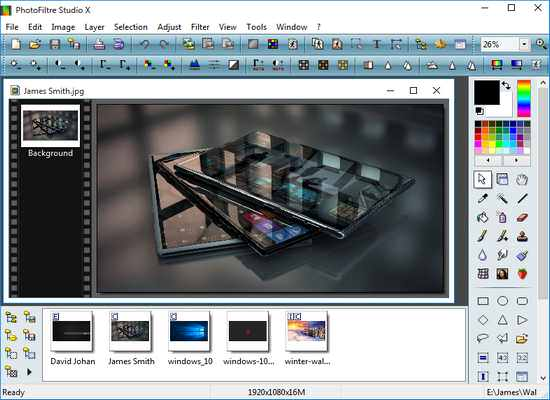 PhotoFiltre Studio Crack with Keygen Free Download
